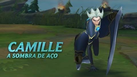 Campeão em Destaque Camille, a Sombra de Aço