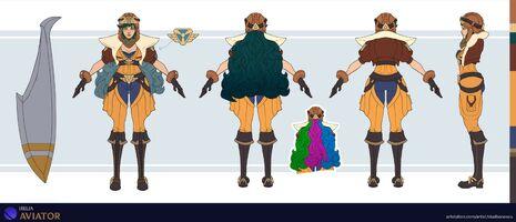 Irelia Update Flieger- Konzept 01
