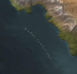 Marai Territory map
