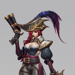 Captain Fortune Concept 3 (by Riot Artist <a href=