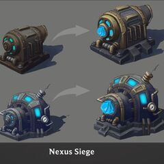 Nexus Siege Turret Concept 6 (by Riot Artist <a rel=