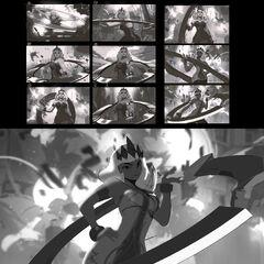 Qiyana Splash Concept 1 (by Riot Artist <a href=