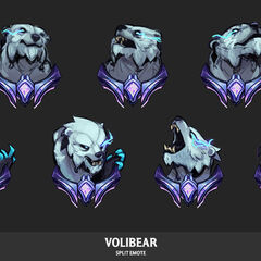 Volibear Emote Update Concept 1 (by Riot Artist <a href=