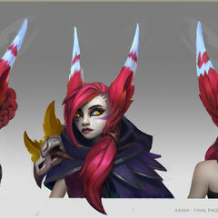 Xayah Concept 4 (by Riot Artist <a href=