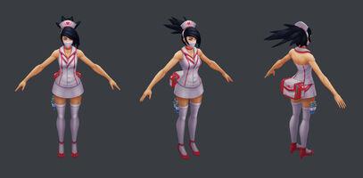 Akali Update Nurse Model 01