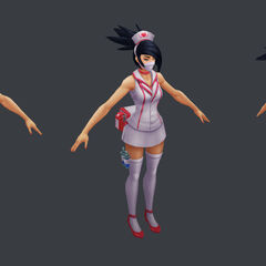 Nurse Akali Update Model 1 (by Riot Artist <a rel=