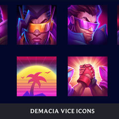 Demacia Vice Icon Concept (by Riot Artist <a href=