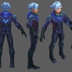 Frosted Ezreal Update Model