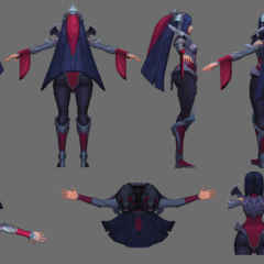 Irelia Update Model 3 (by riot Artist <a href=