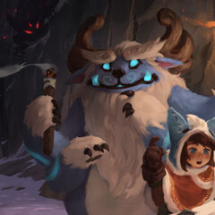 Nunu &amp; Willump It's Me and You Promo 7 (By Riot Collaborating Artist <a rel=