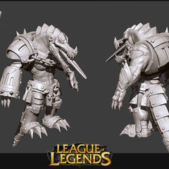 Scorched Earth Renekton Model 1 (by Riot Artist <a href=