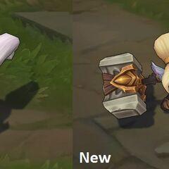 Porównanie starego (po lewej) z nowym modelem Poppy