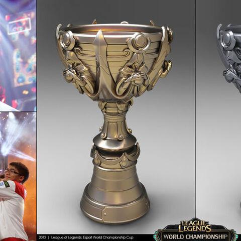Concepto de la Copa del Invocador