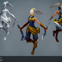 Stinger Akali Update Model 1 (by Riot Artists <a href=