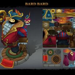 Bard Bard Model 2 (by Riot Artist <a href=