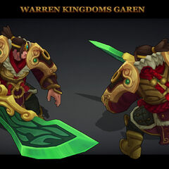 Warring Kingdoms Garen Model 1 (by Riot Artist <a href=