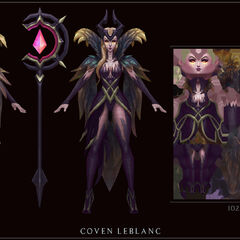 Coven LeBlanc Model 4 (by Riot Artist <a href=