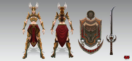 Leona Walküren- Konzept