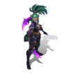 Akali Headhunter (Tanzanite)