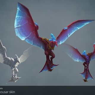 Prehistoric Anivia Model (by Riot Artists <a href=