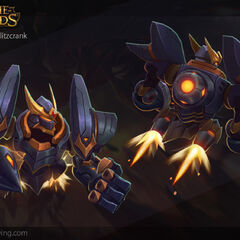 Lancer Rogue Blitzcrank Model 5 (by Riot Artist <a rel=