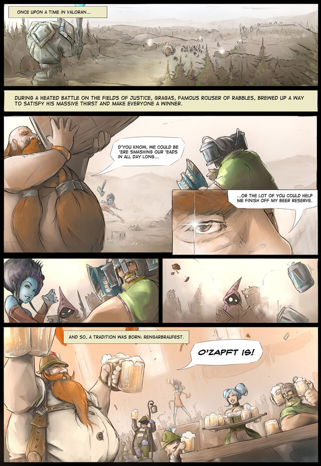Gragas Oktoberfest Comic