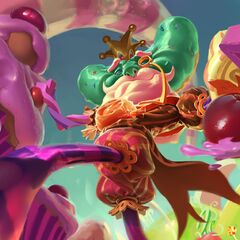Candy King Ivern Splash Concept 3 (by Riot Artist <a href=