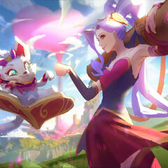 Heartseeker Jinx and Yuumi Splash Concept 2 (by Riot Artist <a href=
