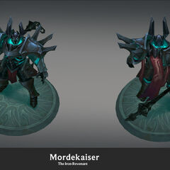 Mordekaiser Update Model 2 (by Riot Artist <a href=