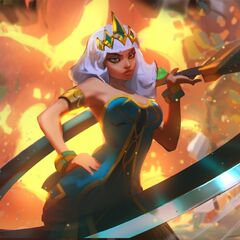 Concepto de la ilustración de Qiyana 2 (por el artista de Riot, <a class=
