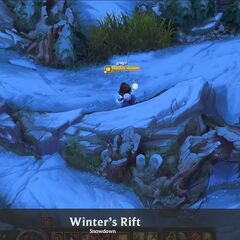 Summoner's Rift Update Winter Concept 1 (by Riot Artist <a rel=