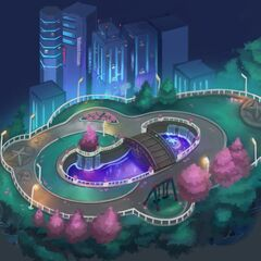 Valoran City Park Concept 5 (by Riot Artist <a href=
