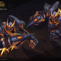 Lancer Rogue Blitzcrank Model 4 (by Riot Artist <a rel=