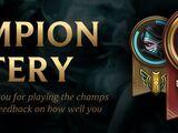 Champion Mastery