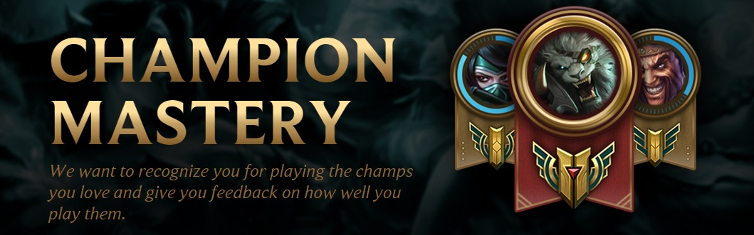 recognized brands free shipping most popular Champion Mastery | League of Legends Wiki | Fandom