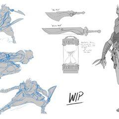Ekko Concept 2 (by Riot Artist <a href=