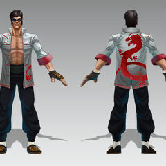Dragon Fist Lee Sin Concept (by Riot Artist <a href=