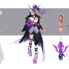 Spirit Blossom Vayne Concept 2 (by Riot Artist <a href=