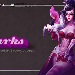 Love <b>lurks</b> behind every corner