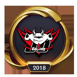 Worlds 2018 JD Gaming (Gold) Emote