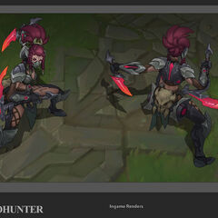 Headhunter Akali Update Concept (by Riot Artist <a href=
