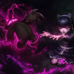 Grafika koncepcyjna aktualizacji obrazu skórki Gotycka Annie (w wykonaniu <a rel=