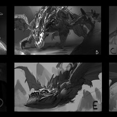 Dragon Splash Concept (by Riot Artist <a rel=