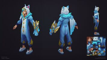 Ezreal Pyjamawächter model 01