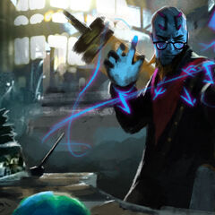 Professor Ryze Update Splash Concept 3 (by Riot Artist <a rel=