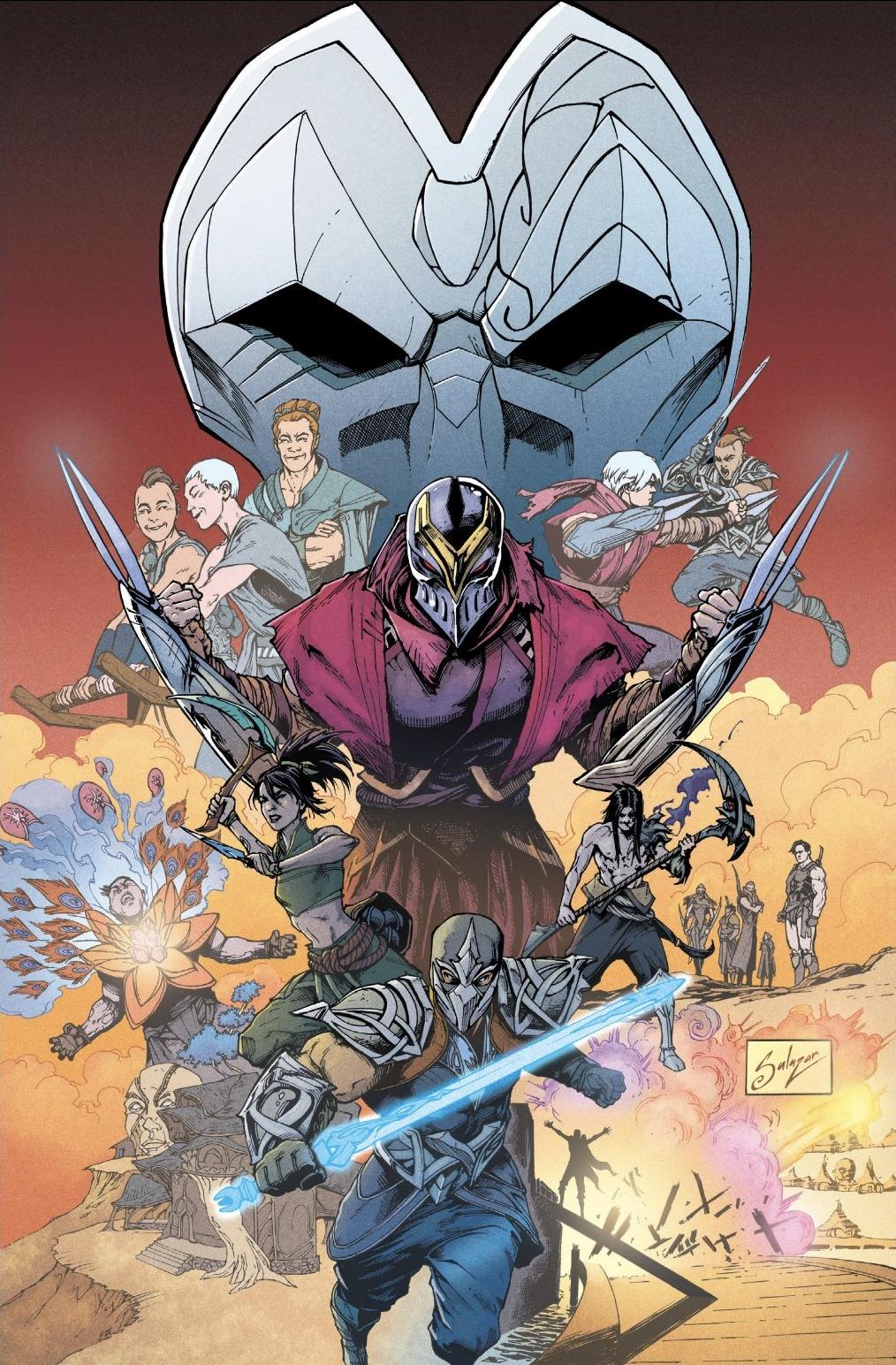 Zed Comic 6 Cover 2