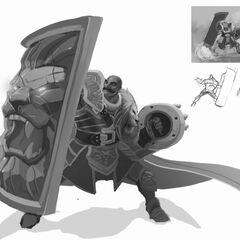 Braum Concept 8 (by Riot Artist <a href=