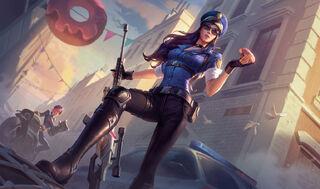 Caitlyn OfficerSkin