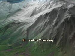 Kinkou Monastery map