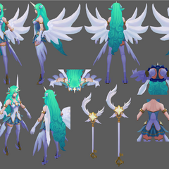 Star Guardian Soraka Model 9 (by Riot Artist <a href=